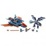 Lego Nexo Knights 70351 Blasterowy Myśliwiec Clay'a - Gwarancja terminu lub 50 zł! BEZPŁATNY ODBIÓR: WROCŁAW!