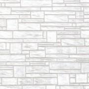 Хартиени тапети дуплекс Алмапласт 'Камъни' цвят светло-сиво