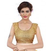 Designer Readymade Golden Blouse - TAMANNA13