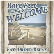 Thirstystone Bare Feet Always Welcome Occasions Trivet FT-PZ2