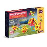 Magformers - My First Tiny Friend, set de 20 piezas magnéticas (702004)