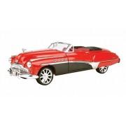 1949 Buick Roadmaster Convertible, Red Motormax Custom Classics 79004 1/18 Scale Diecast Model Car