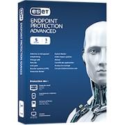 ESET Endpoint Protection Advanced - 5 postes - Abonnement 1 an - Support Premium inclus