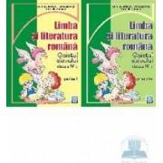 Romana cls 4 caiet partea I+II - Aurelia Fierascu Ana Lapovita
