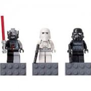 LEGO STAR WARS Magnet Set: Battle-Damaged Darth Vader, Snowtrooper and Shadow Trooper / LEGO Star Wars Magnet Set - Darth Vader (damage version), Snow Trooper (Cold Assault Storm Trooper), shadow trooper] 852 715 (japan import)
