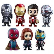 [ Kos Baby ' Avengers / Age of Urutoron ' series 2.0 [ size S] 7 body box set a height of about 10 cm plastic Painted Figure Set by Hot Toys