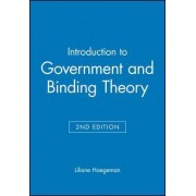 Introduction to Government and Binding Theory by Liliane Haegeman