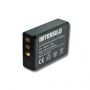 INTENSILO Li-Ion batterie 1600mAh (3.6V) pour appareil photo Fujifilm Finepix F305, SL1000, SL240, SL260, SL280 comme NP-85, CB170, PA3985.