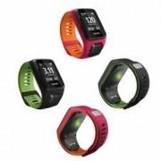 TomTom Runner 3 Cardio GPS-Sportuhr Größe L (143-206 mm) Farbe Schwarz/Grün