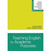 Teaching English for Academic Purposes by Ilka Kostka