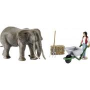 Schleich 41409 - Scenery Pack Olifanten Verzorgingsset