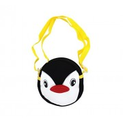 Shopaholic Attractive Penguin Featured Sling Bag For Kids(Small)