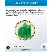 HeroClix: Green Kryptonite # S101 (Limited) - Superman