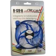 Ventilator Inter-Tech CobaNitrox Extended R-120-B 120mm Blue LED
