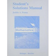 Student Solutions Manual for Developmental Mathematics by Marvin L. Bittinger