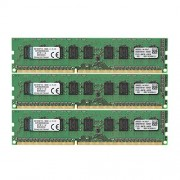 Kingston KVR1333D3E9SK3/24G Memoria RAM da 24 GB, 1333 MHz, DDR3, ECC CL9 DIMM Kit (3x8 GB), 240-pin