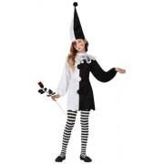 Atosa 8422259160410 - Costume da Arlecchino Bambina, taglia: 116 cm