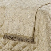 Duchess Champagne Matching Throw Rug by Bianca