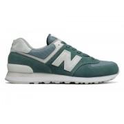 New Balance Men's 574 New Balance Green with Grey White