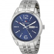 Tommy Hilfiger Men's 1791061 Analog Display Quartz Silver Watch