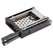 Connectland Dual Bay Trayless Mobile Rack for Two 2.5 SATA III Drive (CL-HD-MRDU25S)