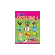 Super origami 1 - carte + hartie origami cu imagini