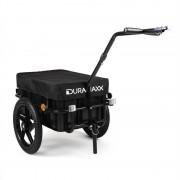 Duramaxx Big Bllack Mike - Remolque para bicicletas 70 L negro