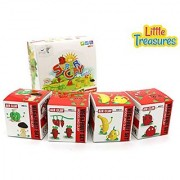 Fruit & Vegetables Modeling Clay set 4 individual clays sets included - follow the detailed instructions or create your Owen unique model - great Arts N Crafts for children at home or school