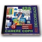 CD 125 proiecte de decoratii pentru camere copii - vol 1