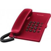 Telefon analogic Panasonic KX-TS500FXR Rosu