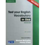 Test Your English Vocabulary in Use Advanced with Answers by Michael J. McCarthy