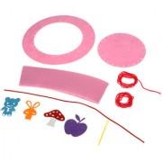 Magideal Non-Woven Fabrics DIY Children Hat Making Accessories Pink