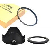 Fotasy LH-JDC100K 67mm Filter Adapter/Lens Hood Set, MRC Nano Multi-Coated UV HD for Canon PowerShot G3 X, replaces anon LH-DC100 & FA-DC67B