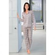 Novila Karo-Pyjama, Rose/Grau, 40 - Rose/Grau