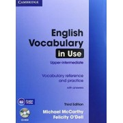 English Vocabulary in Use - Upper-intermediate (Third Edition). Book with answers and CD-ROM by Michael McCarthy