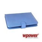 """WPOWER 9"""" Billentyűzetes Tablet tok, kék, EN-HU"""