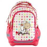 NICI 16563 Children's Backpack, White/ Pink