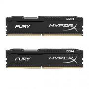 HyperX FURY Black 8 GB Kit (2x4GB) 2133MHz DDR4 Non-ECC CL14 DIMM Desktop Memory (HX421C14FBK2/8)