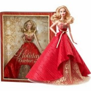 Barbie Poupée Mannequin Collection Mattel Holiday Noël 2014 Doll Collector