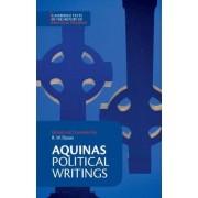 Aquinas: Political Writings by Thomas Aquinas