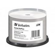 VERBATIM DVD-R AZO 16X 4.7GB PRINT 50SP, (43755)