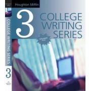 Houghton Mifflin College Writing Series: Bk. 3 by Houghton Mifflin Co