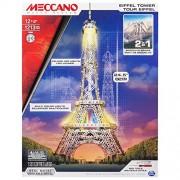Meccano 6024900 - Eiffel Tower 2.0 Confezione per Costruire Due Strutture: La Torre Eiffel e Il Ponte di Brooklyn