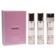 Chanel Chance Eau Tendre Eau de Toilette 60 ml (3x20) pentru femei