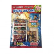 """'Lego Ninjago Trading Cards - Pack Multi (Multipack avec 5 Booster + 1 Carte Exclusive Limitée """"NRG Jay)"""