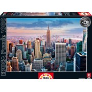 Educa Puzzle Midtown Manhattan 1000 de piese 14811 colorat