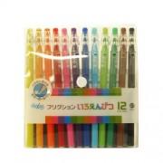 Piloto FriXion Color-Lápiz-Como borrable Gel pluma de tinta - 0,7 mm - 12 Grupo de colores de Japón