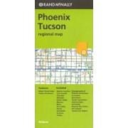 Folded Map Phoenix/Tucson & Vic AZ Regional by Rand McNally