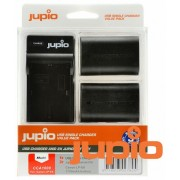 Jupio acumulator suplinitor (Canon LP-E6) și USB Single Charger Kit