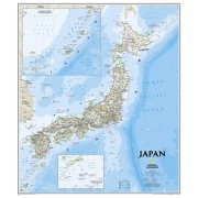 Wandkaart Japan, 63 x 74 cm | National Geographic